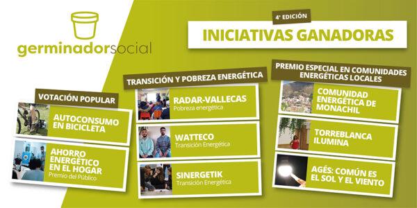 Premio Germinador Social al proyecto Torreblanca Ilumina
